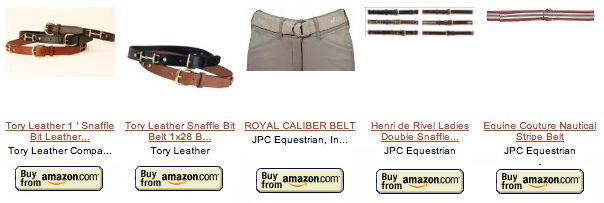 Riding Belts
