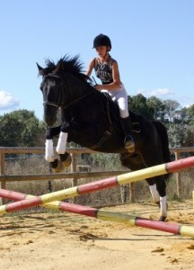 overcoming the fear of jumping horse riding